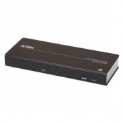 4-Port HDMI Rozbočovač Černá