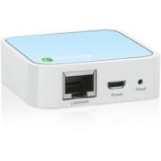 TP-Link TL-WR802N N Mini poket AP/router, 1x LAN, 1x micro USB (2,4GHz, 802.11b/g/n) 300Mbps