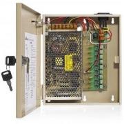 Impulsní napájecí zdroj ZS10CH9  12V 9x výstup 1,1A