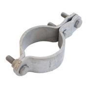 Svorka  hromosvodu na trubku 106 - 115 mm pro uzemnění