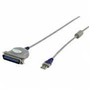 USB 2.0 Cable A Male - Centronics 36-Pin Male 1.80 m Grey