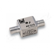 Útlumový článek Alcad AV-315 - 3-18 dB, TV/SAT, DC pass