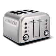 Morphy Richards topinkovač Accents Brushed 4S