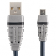 Bandridge USB 2.0 mikro B kabel, 2m, BCL4902