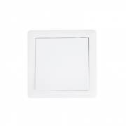 Solight vypínač Slim č. 6 střídavý - schodišťový, bílý