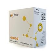 Kabel UTP Cat5e PVC Solarix (vnitřní) [1m]