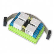 Rozšiřující modul 4 relé pro Lan Controller V3 - LED indikace