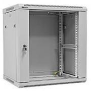 "19"" Rack skříň W6412 (12U 450mm, závěsná, bílá)"