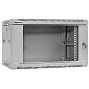 "19"" Rack skříň W6406 (6U 450mm, závěsná, bílá)"