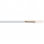 Telefonní Kabel na Cívce 4x 7/0.12 - 100 m Bílá