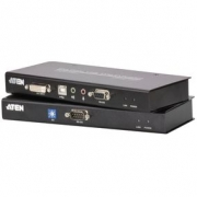 DVI / USB / Audio Cat5 Extender 60 m