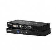 DVI / USB / Audio Cat5 Extender 60 m