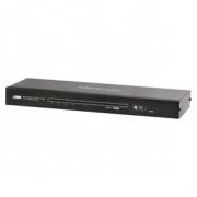 4-Port Cat5 HDMI Rozbočovač Černá