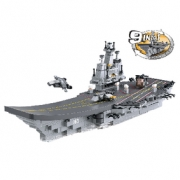 Stavebnicové Kostky Aircraft Carrier Serie 9-in-1 Aircraft Carrier