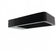 LED Venkovní Nástěnné Svítidlo 6 W 120 lm Černá