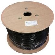 Kabel LEXI S/FTP CAT 7 23AWG venkovní dvouplášť LSZH+PE černý