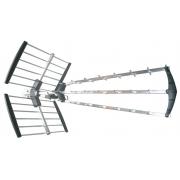 Solight venkovní DVB-T anténa, 39dB, UHF, 21. - 60. kanál. LTE/4G filtr