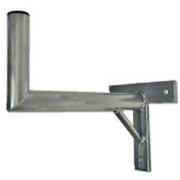 Držák antény 35 s křížem + vzpěra, trubka 42/2mm, zinek Galva