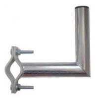 Držák antény 20cm s vlnkou, (na balkón 40-67mm), trubka 42/2mm, zinek Galva