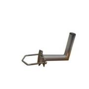 Držák antény 20cm s vinklem, (na stožár 25-89mm), trubka 42/2mm, zinek Žár