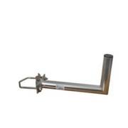 Držák antény 35cm s vinklem, (na stožár 25-89mm), trubka 42/2mm, zinek Žár