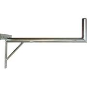 Držák antény 100cm s křížem + vzpěra, trubka 42/2mm, zinek Žár