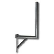 Držák antény 35/150cm s křížem + vzpěra, trubka 42/2mm, zinek Žár