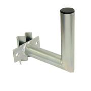 Držák antény 20cm s vinklem, (na stožár 60-110mm), trubka 42/2mm, zinek Galva