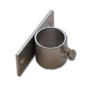Držák stožáru 48mm (krátký pás) zinek Galva