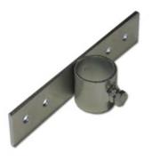 Držák stožáru 42mm (delší pás) zinek Galva