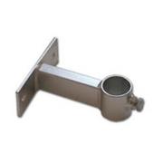 Držák stožáru 35mm, 10cm od zdi (krátký pás), zinek Galva