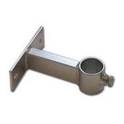 Držák stožáru 48mm, 10cm od zdi (krátký pás), zinek Žár