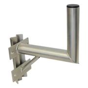 Držák antény 25/30cm s vinklem a vzpěrou, (na stožár 25-89mm), trubka 60/2mm, zinek Galva