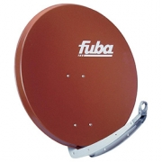 Parabola 85cm Al FUBA - červená (cihlová)
