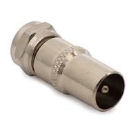 Spojka F (kolík) / IEC (kolík)
