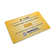 IR-CARD pro zjištění funkce dálkových ovladačů
