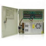 Impulsní napájecí zdroj ZS20CH18 12V 18x výstup max 20A