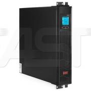 Záložní napájecí zdroj UPS - EAST 1000RT RACK (1000VA/900W) online