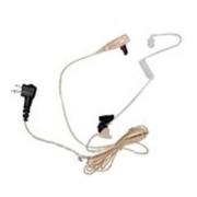 Motorola 2-drátové sluchátko s čirou akustickou trubicí (béžové) PML N6445A