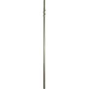 Stožár 2.díl d48/57mm (2x2,5m), zinek Žár