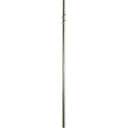 Stožár 2.díl d42/48mm (2x2,5m), zinek Žár