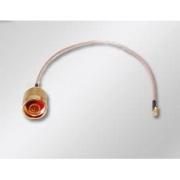Pigtail 0,2m MMCX male / N male kabel RG316