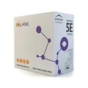 Kabel UTP Cat5e PVC LSOH Solarix (vnitřní) [305m]