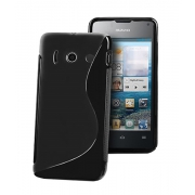 ForCell Zadní Kryt Lux S Black pro Huawei Ascend Y300