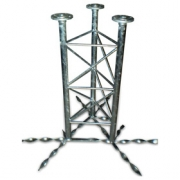 Příhradový stožár 60-550-1000 do betonu - žár