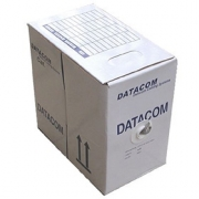 Kabel UTP Cat6 PVC DATACOM (vnitřní) [305m]