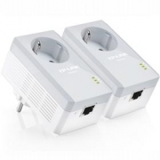 TP-Link Powerline ethernet TP-Link TL-PA4010P Starter Kit (2ks) nano adaptér (500 Mbps)