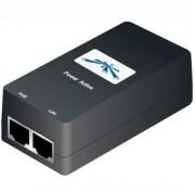 UBNT POE-15, PoE adapter 15V/0,8A (12W), včetně napájecího kabelu