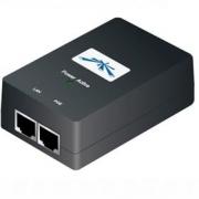 UBNT POE-48, Gigabit PoE adapter 48V/0,5A (24W) včetně napájecího kabelu