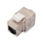 Solarix 10G zařezávací keystone  CAT6A STP SXKJ-10G-STP-BK